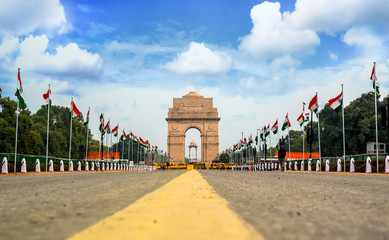 Photo sur Plexiglas Delhi India Gate, New Delhi, India