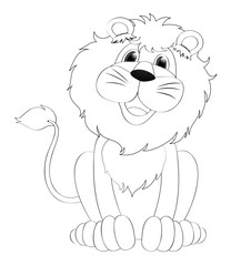 Doodles drafting animal for lion