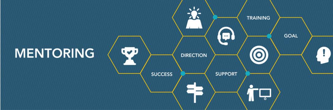 Mentorıng Icon Concept