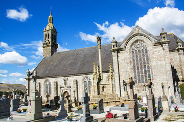 Eglise Notre-Dame , Kergoat, Finistère, Bretagne