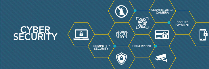 Cyber Securıty Icon Concept