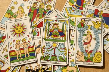 Tarot de Marseille : Arcanes majeures