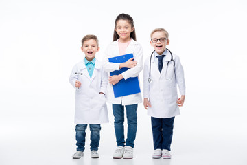 Kids playing doctors