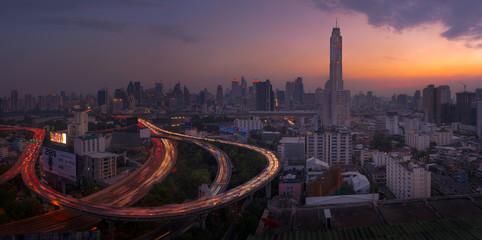 Baiyoke tower, Bangkok, Thailand