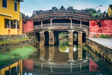 Chinese bridge in Hoi An