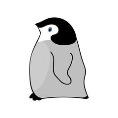 Penguin Cute animal funny cartoon.