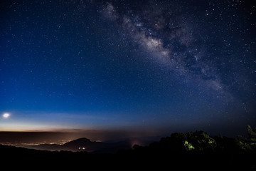 Milky Way in thailand