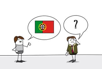 Personnages - cours portugais
