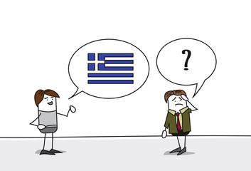 Personnage - Cours de grec