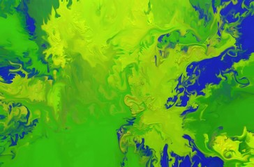 Abstract oil painting background. Colorful digital illustration.