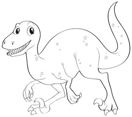 Doodles drafting animal for dinosaur