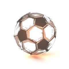 Soccer ball, sport, game, ball, easy editable