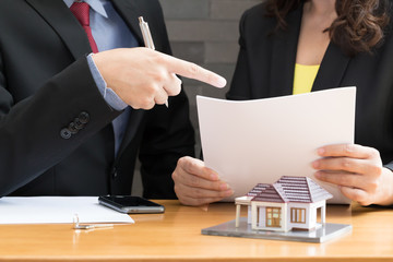 The partnership between the two companies of real estate