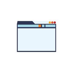 Internet website page vector illustration graphic design