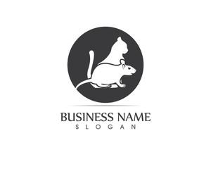 Cat And Rat Logo