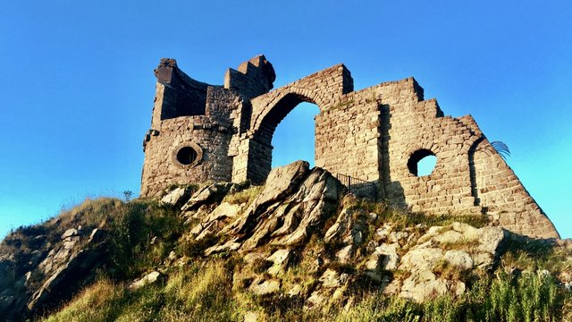 Old Castle in Mow Cop