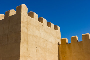 City walls of Taroudant