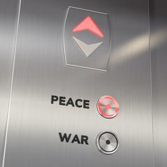 Elevator Peace Button