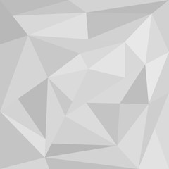 Abstract background of grey triangle