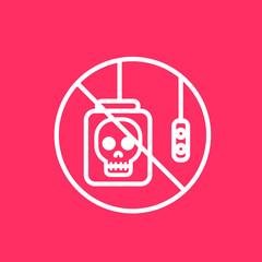 death warning ine art vector