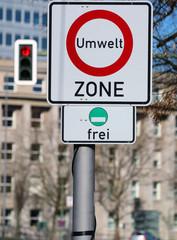 Umweltzone Berlin Verkehrsschild