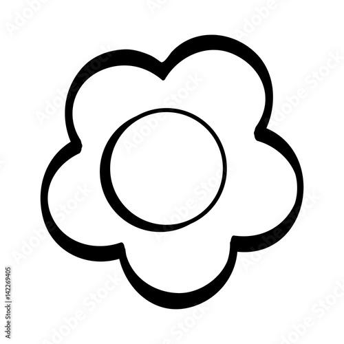 Figure beauty flower design icon fichier vectoriel libre de droit - Figure libre architecture ...