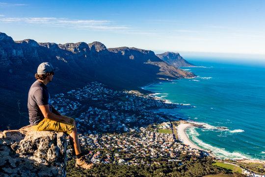 Admiring Cape Town