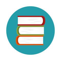 text book school icon vector illustration design