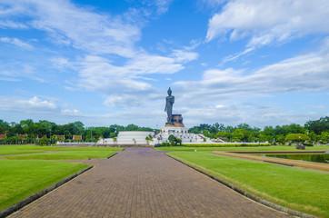 Big Buddha statue at phutthamonthon province, Nakhon Pathom, Thailand