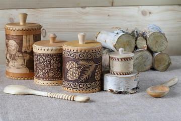 Items of household utensils.