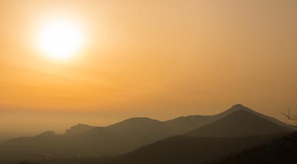 Caserta Vecchia, tramonto