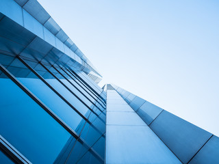 Architecture details Modern Building Glass facade design Abstract Background Wall mural