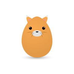 Easter cat Egg