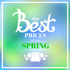 best price of this spring