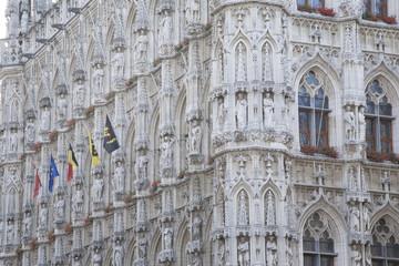 City Hall, Leuven, Belgium,