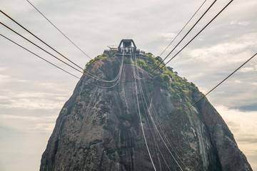 Der Zuckerhut in Rio de Janeiro, Brasilien