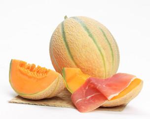 Melone con prosciutto