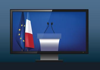 Politique - élection présidentielle - élection - TV - programme - débat télévisé