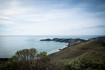 California Bay Area Landscape View