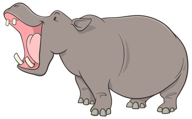 hippopotamus cartoon character