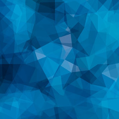 Abstract geometric pattern. Blue triangles background. Vector illustration eps 10.