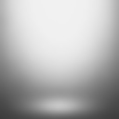 Abstract gray gradient. Used as background for product display. Vector illustration eps 10.