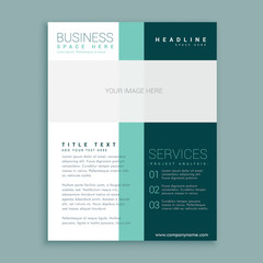 simple brochure design for your business