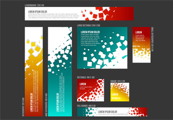 8 Abstract Design Banner Templates 2