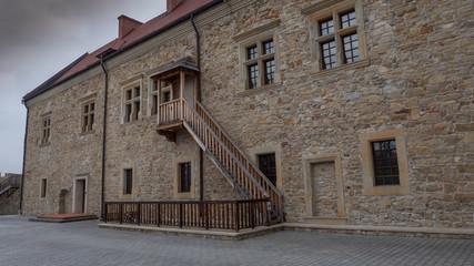 Beautiful picture of castle in Sanok