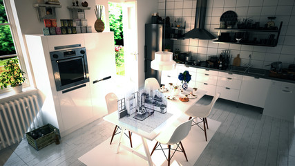 Interior Design Kitchen Augmented Reality