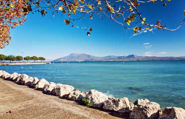 Embankment  Lake Garda  hotels luxury resort Sirmione Italy