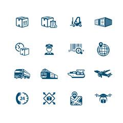 Logistics icons || MICRO series