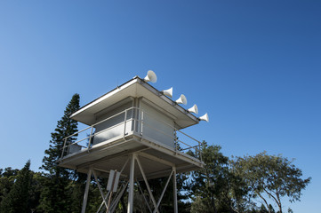 Life guard tower in Sydney