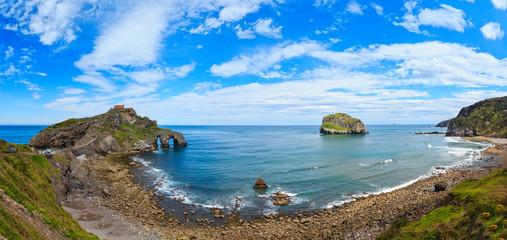 Gaztelugatxe island, Atlantic coast, Spain.